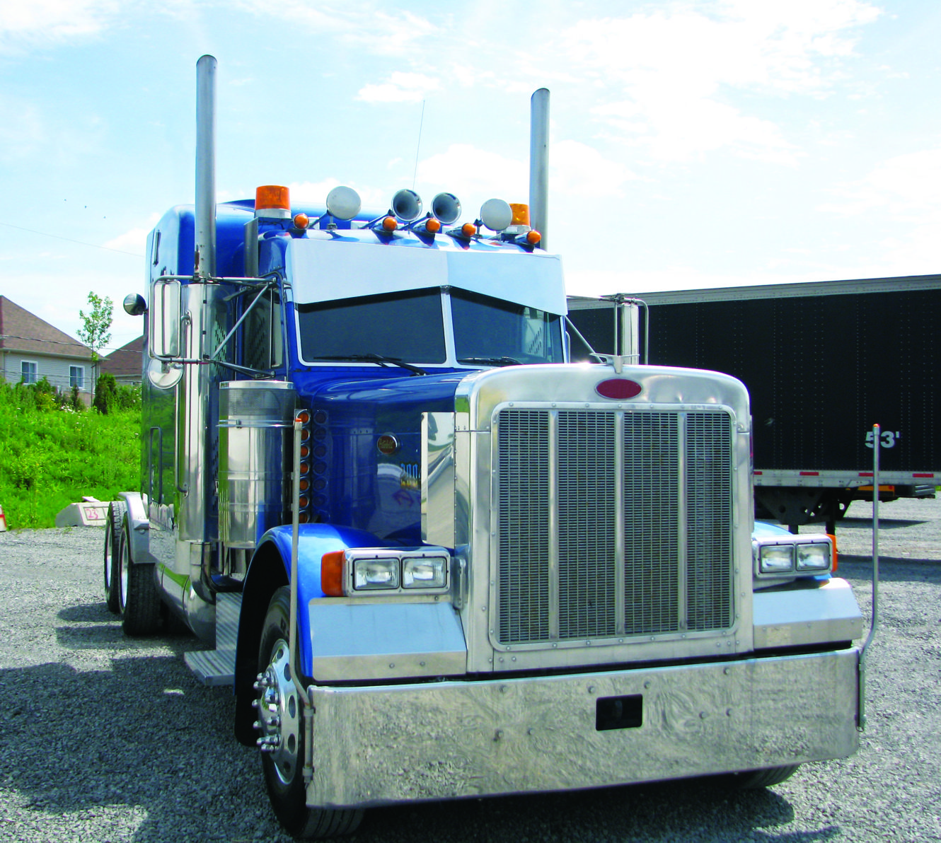 14inch SS Peterbilt, 379 Bowtie Southern Styleinch Sunvisor