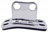 (Shell) Stainless Steel Peterbilt Lower Cab Exhaust Bracket W/ Rubber Gasket