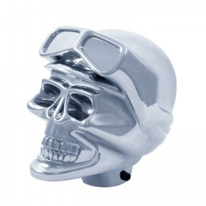 Chrome Skull Biker Shift Knob